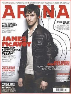 james mcavoy arena1 James McAvoy en la revista ARENA