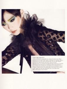 Tao Okamoto - Paris Vogue October 2009