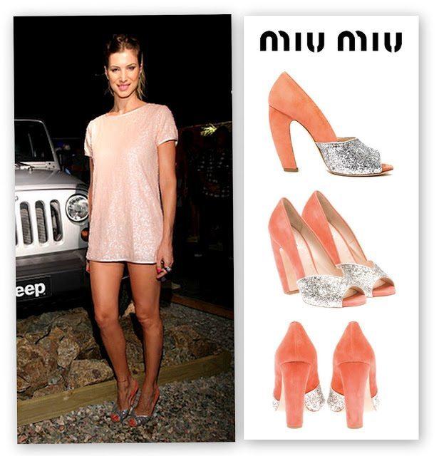 Soledad-Ainesa-Modelo-Miu-Miu-Glitter-Peep-Toe-Pink-Zapatos